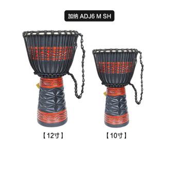 ドイツのメルアドシリーズアフリカドラム10インチ丸太の手抜きドラム12インチアフリカのタンバリン10インチ