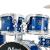 MESマイスDM 5255 Tジャムドラム原音ドラムカバードラムセルロイドタイプラ糸ブルー(11)