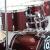 マイスMES Q 7ドラムズドドラム8色5镲片セットは、アコースティック・ドラム共通の赤色シルバー・エッジ(CR)3镲架4镲片を配置します。