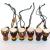 丽江の1.5寸の旅のアフリカンの太鼓のネゴシックの赠り物のネッククレスのアフレーのタレンベリーのペンダントと同じディザンの全体の木の茶色い秘蔵の金