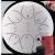 hluru空霊鼓・色空鼓・鉄舌・黒空鼓・憂鼓・無憂鼓・小鼓・大人の初心者楽器・子供の手で鼓・10寸12寸8音11音【8音】チタン白色10寸(25 cm)