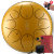 hluru空霊鼓・色空鼓・鉄舌・黒空鼓・憂鼓・無憂鼓・小鼓・大人の初心者楽器・子供の手で太鼓を打つ10寸12寸8音【8音】赤金10寸(25 cm)