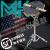 MK正品のダミードラムセット12インチのダミードラムパッドドラムトレーニング器子供ジャズドラムバッティングボード初学入門ドラム黒MKダミードラムパッド+ブラケット+レギュレータ+ドラム