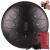hluru【指サック付き】空霊鼓・色空鼓・鋼舌鼓・黒空鼓・無玄憂鼓・大人楽器手打鼓・10寸12音11音丸タン・栗色8音10寸(25 cm)