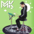 MK正品のダミードラムセット12インチのダミードラムパッドドラムトレーニング器子供ジャズドラムバッティングボード初学入門ドラムブルーMKダミーパッド+ブラケット+レパートリー+ドラム