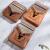 前谷(cega)親指琴カリン・オルガン17音初心者指琴カリバー楽器ミニモデル-17音全シングル桃芯木-トナカイ(復古)