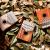 Hlururu鲁儒亲指琴の防手のタイプのカリン巴琴の17音の単板の実木の指の琴の演奏器kalimba亲指のピアノの初心者の楽器C种类の护手の円の孔の17音の思い合う木